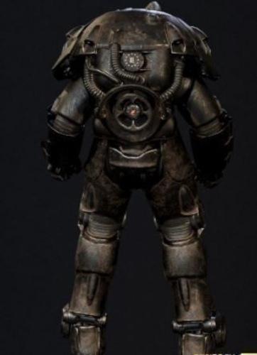 Fallout  Miami  Enclave Advance  Power  Armor 3D Print 247338
