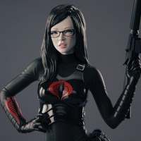 Small Baroness 3D Printing 247405