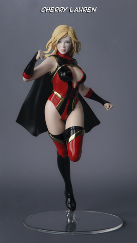 Female Superhero 3D Print 247410
