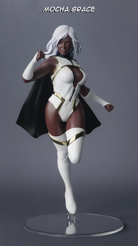 Female Superhero 3D Print 247411