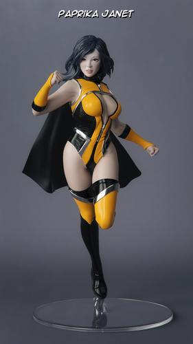 Female Superhero 3D Print 247412