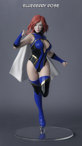 Female Superhero 3D Print 247413