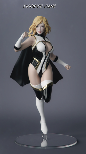 Female Superhero 3D Print 247414