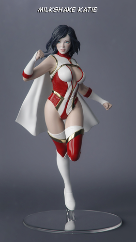 Female Superhero 3D Print 247415
