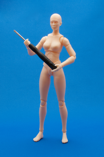 Articulated Poseable Female Figure 3D Print 247430