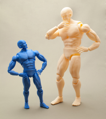 Articulated Poseable Male Figure 3D Print 247437
