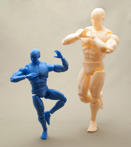 Articulated Poseable Male Figure 3D Print 247439