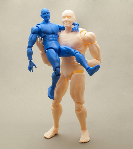 Articulated Poseable Male Figure 3D Print 247441