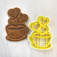 Small Cookie Cutter  Сoffee 3D Printing 247447
