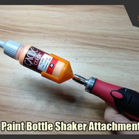 Small  Paint Bottle Shaker Attachment  3D Printing 247499