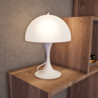 Small Panthella Table Lamp 3D Printing 247520