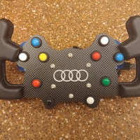 Small Audi RS5 DTM Steering Wheel 3D Printing 247638