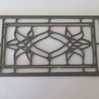 Small Stainedglass windows 1:12 3D Printing 247685