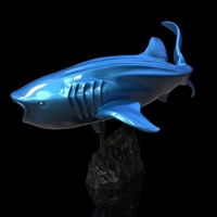 Small Whale Shark 3D Printing 247734