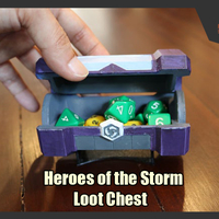 Small  Heroes of the Storm - Loot Chest  3D Printing 247877