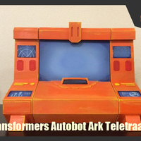 Small  Transformers Generation 1 - Autobot Ark Teletraan-1  3D Printing 247956