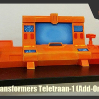 Small  Transformers Generation 1 - Autobot Ark Teletraan-1 (Add-Ons)  3D Printing 247957