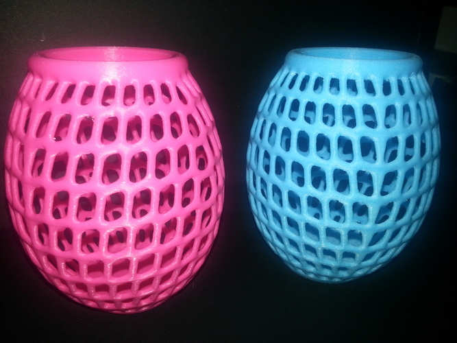 Egg Vase Bowl Holder Basket Thing 3D Printing 2480