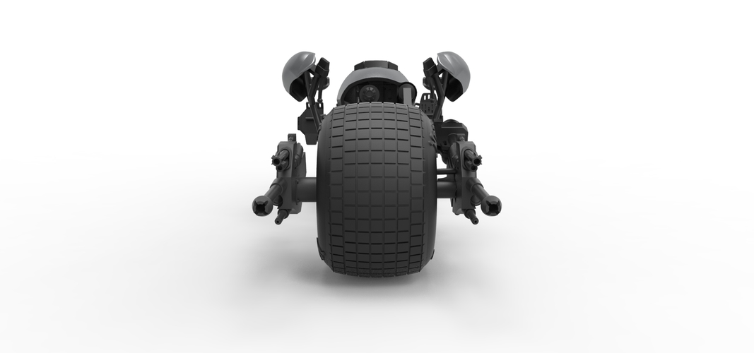Diecast model Batpod from the movie The Dark Knight Scale 1:12 3D Print 248008