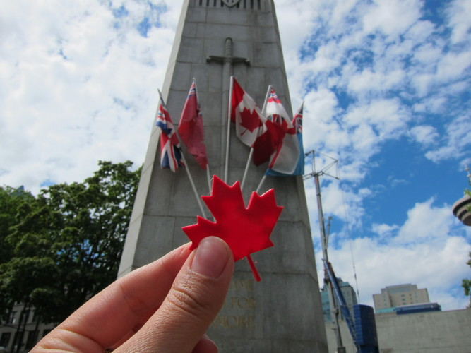 Maple Leaf - Canada Day! 3D Print 24803