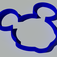 Small Mickey mouse forms 3D Printing 248062