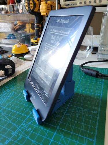 Ebook Reader (KOBO) & Mobile Phone Stand 3D Print 248138