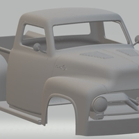 Small Ford F250 1955 Printable Body Truck 3D Printing 248184