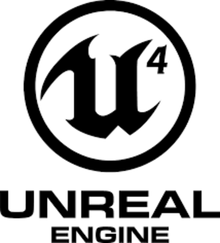 Unreal Engine 4 coaster (pair) 3D Print 248200