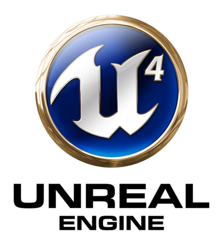 Unreal Engine 4 coaster (pair) 3D Print 248201