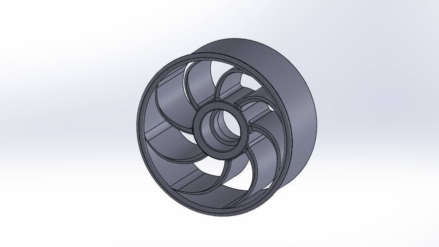 Thurbolt custom tire & rim 1 3D Print 248296