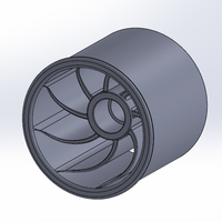 Small  wider version of thurbolt custom rim 1 3D Printing 248297