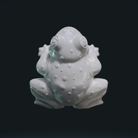 Small Fat Frog 3D Printing 248347