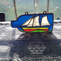 Small Ship in a Bottle 3D Printing 24839