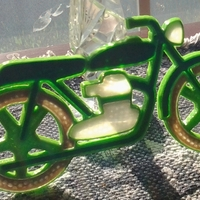 Small MotorCycle 3D Printing 24844
