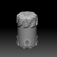 Small Sculpture Candle 3D Printing 248462