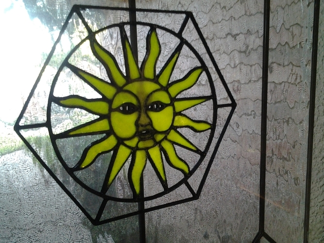Sun Stained Glass 3D Print 24858