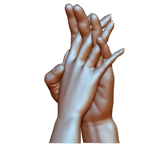 Hands couple in love 3D Print 248587
