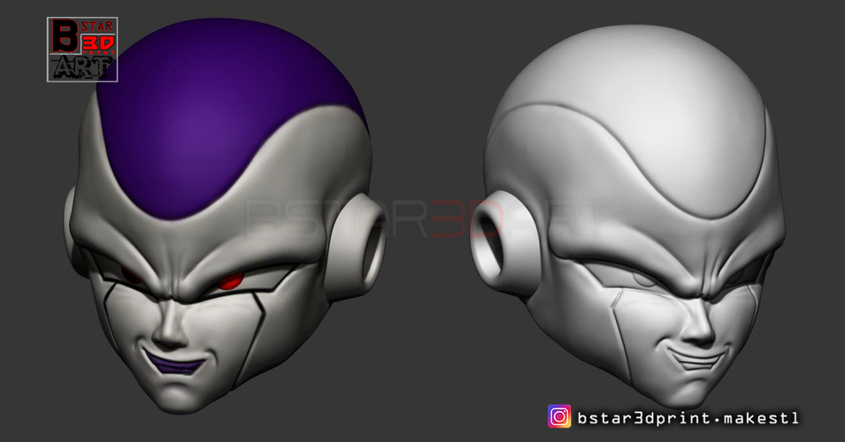 Super Frieza fighting from Dragon Ball Z 3D print model 3D Print 248876