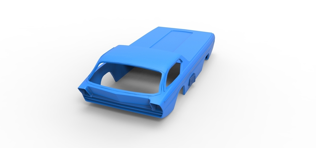 Diecast shell model Dodge Deora Scale 1 to 24 3D Print 248945