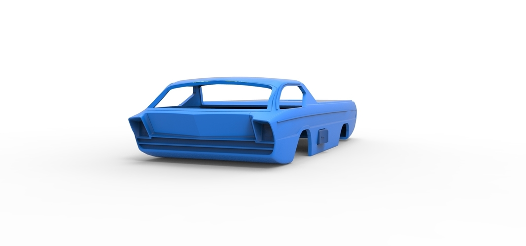 Diecast shell model Dodge Deora Scale 1 to 24 3D Print 248946