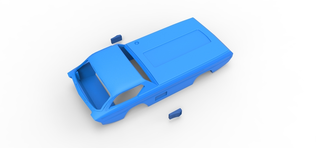 Diecast shell model Dodge Deora Scale 1 to 24 3D Print 248960