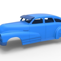 Small Diecast shell Buick Special Sedan 1947 Scale 1 to 24 3D Printing 248966