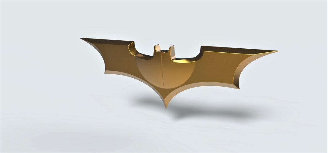 Batarang from the movie Dark Knight 3D Print 249081