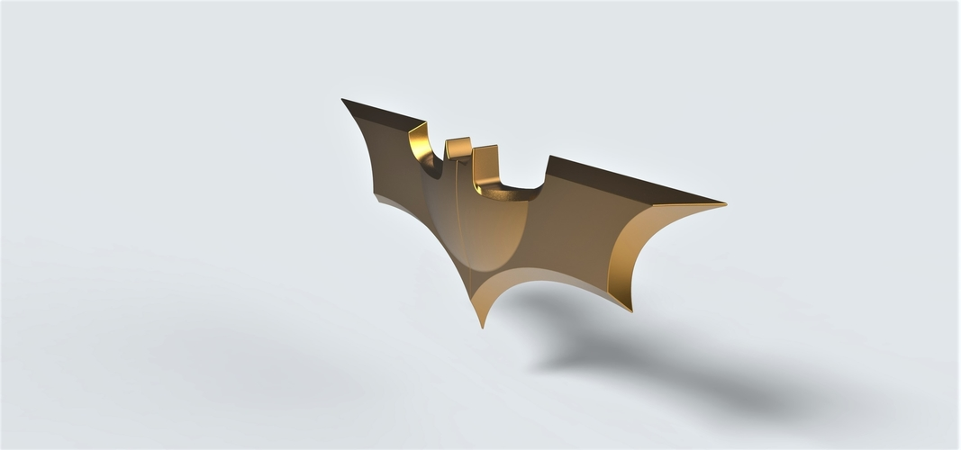 Batarang from the movie Dark Knight 3D Print 249083