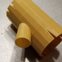 Small Hollow Log for Aquarium 3D Printing 249149