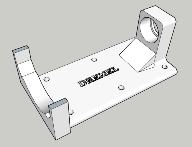 Dremel Holder 3D Print 249168