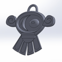 Small Talim necklace medallion 3D Printing 249172