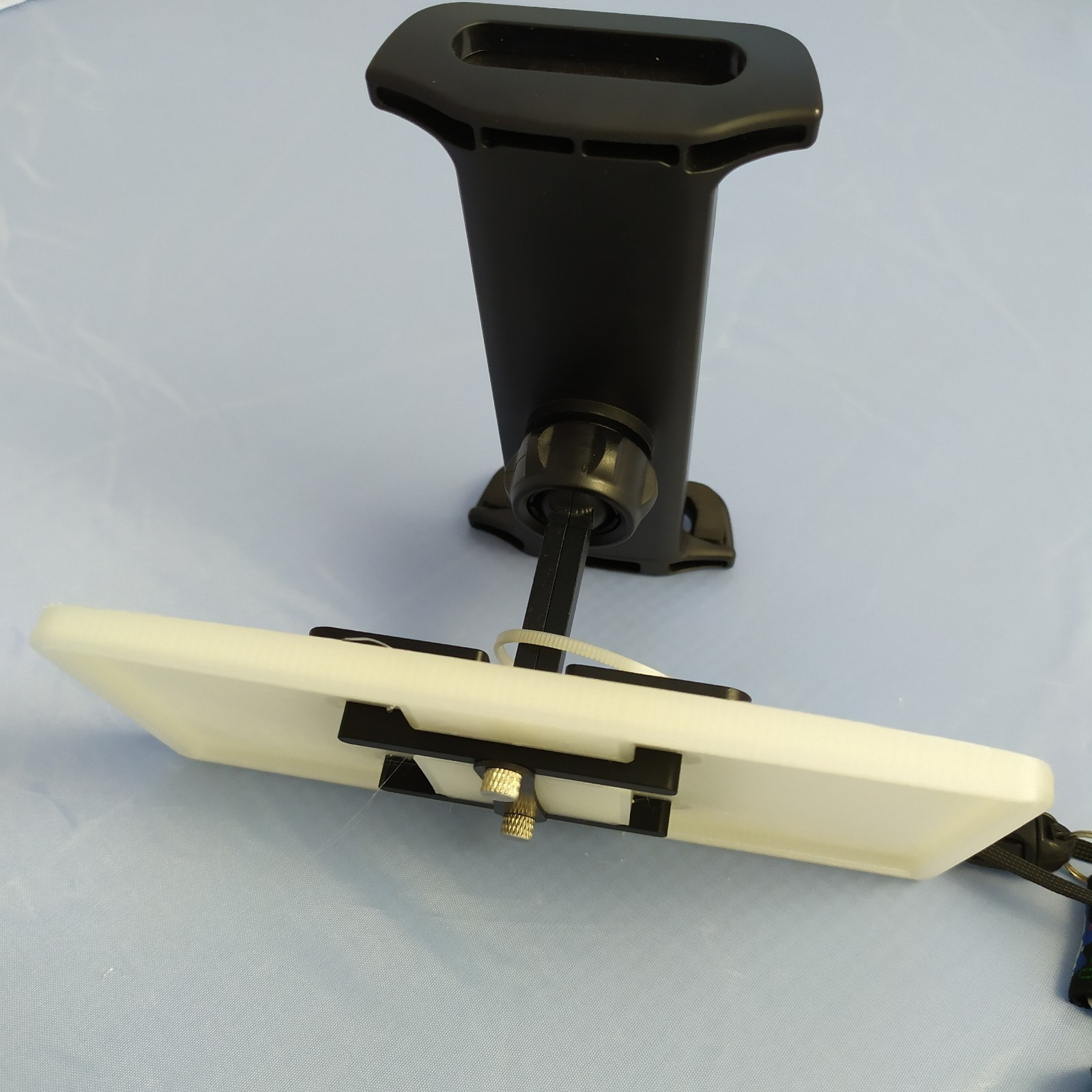 3D Printed Tablet Holder Adapter DJi Mavic 2 - Holder Parrot Anafi