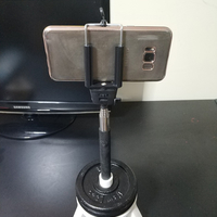 Small Selfie stick - Monopod Support Platform (for a 18mm diameter) 3D Printing 249254