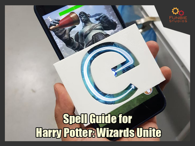 Spell Guides for Harry Potter: Wizards Unite  3D Print 249296